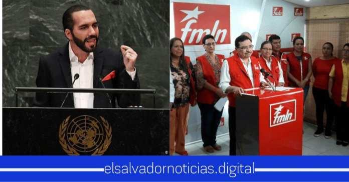 Nayib tiene lastima por los del FMLN