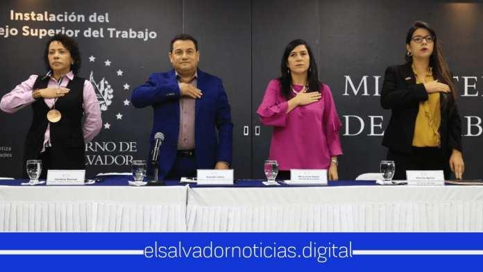 El ministerio de trabajo realizó el acto de juramentación del Consejo Nacional del Salario Mínimo