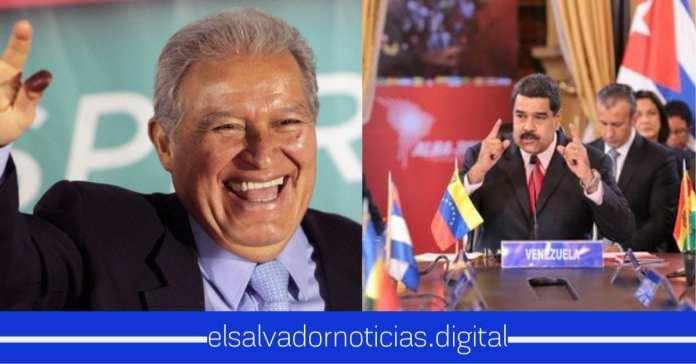 Sanchez Cerén salio a defender su patrocinio Venezolano