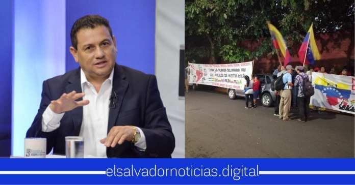 Rolando Castro no entiende porque hicieron protesta por defensa del Gobierno de Maduro y por resolución contra la inocencia de una niña