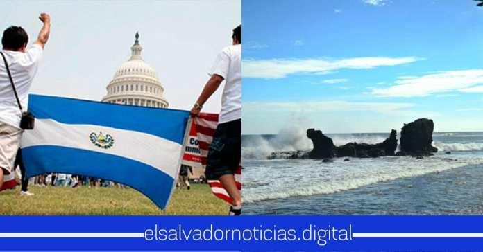 Estudios revelan que los salvadoreños que residen en Estados Unidos lo que más añoran del país son las playas.