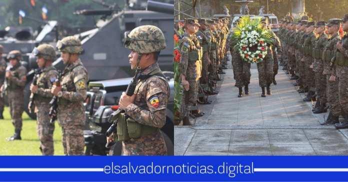 Fuerza Armada también conmemoran este 2 Nov. a sus héroes miliares que entregaron su vida cumpliendo su deber