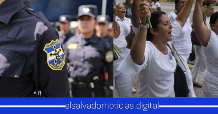 100 mujeres policías darán seguridad este día a la protesta pacifica sobre #TocarNiñasSiEsDelito