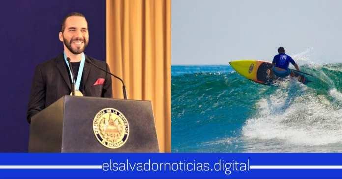 Nayib Bukele recibe medalla de ORO por ser miembro honorario de Surf City