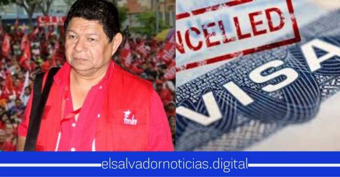 Le prohiben la entrada a la USA a Benito Lara del FMLN por vinculación con terroristas