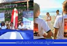 """Se inaugura el torneo de Surf """"Hijas del Mar"""" en playa Sunzal."""