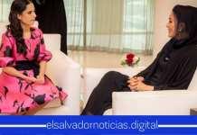 Primera Dama se reúne con Alteza Sheikha Moza bint Nasser buscando acuerdos que favorezcan la niñez en El Salvador
