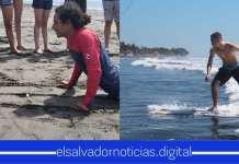 INJUVE brinda clases de Suf a 80 jóvenes en playa Conchalio