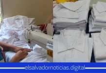 Privadas de Libertad son encargadas de confeccionar 2,000 camisas de uniformes escolares