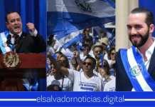 Presidente de Guatemala respalda el total apoyo al presidente Bukele y el pueblo salvadoreño que buscan la aprobación de fondos para el Plan Control Territorial