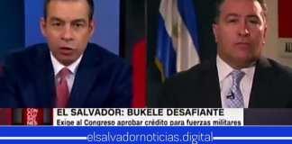 Periodista de CNN le cierra la boca a Portillo Cuadra, al preguntarle por qué no se aprueban los fondos si a El Salvador le está yendo bien en la lucha contra el crimen