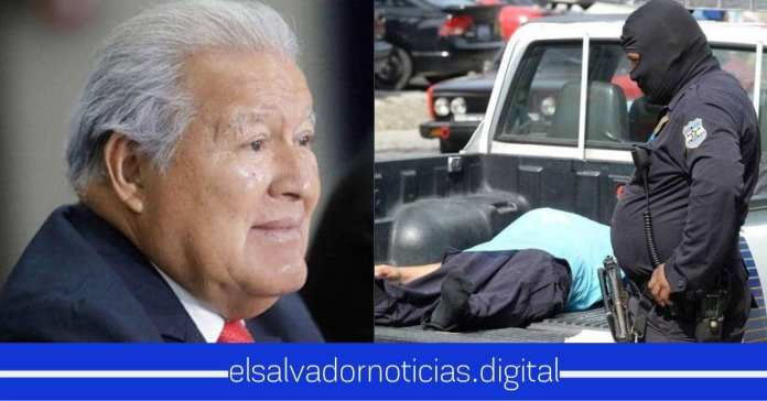 Sánchez Cerén era quien autorizaba a los pandilleros que matarán policías, soldados y a miembros de su familia como lo habían acordado en su pacto