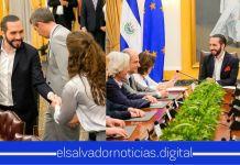 Eurodiputados destacan los resultados positivos del Plan Control Territorial del Gobierno del Presidente Bukele