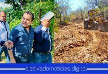 Gobierno cambia calles de tierra a vías pavimentadas a los ciudadanos de Santa Tecla