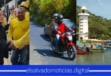Obras Públicas entrega vía alterna para llegar al Lago de Ilopango, para así fortalecer el turismo de la zona