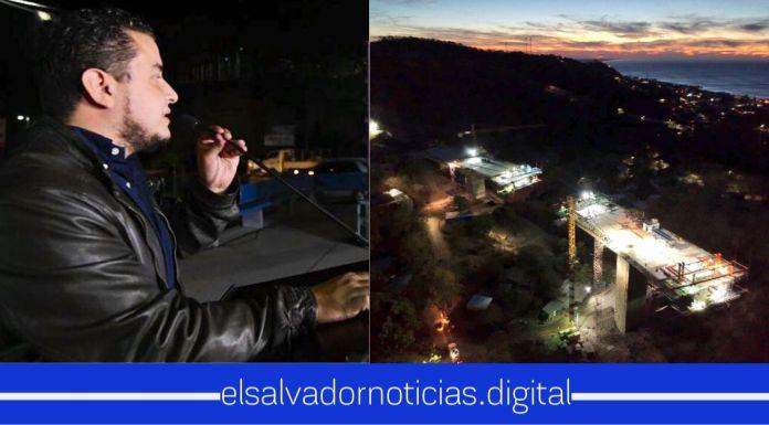Obras Públicas avanza de día y de noche, en la mega obra del Bypass de La Libertad para mejorar el tránsito de mercancías y turistas