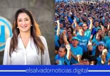 Salvadoreños propone a Michelle Sol como Secretaria Nacional de Mujeres de Nuevas Ideas