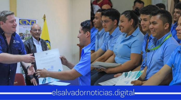 BANDESAL hace la entrega de 30 becas a salvadoreños que tienen los rendimientos académicos más altos en la Escuela Nacional de Agricultura