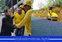 Obras Públicas a punto de entregar nueva vía a las familias del Cantón Tehuiste en San Juan Nonualco
