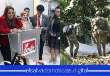 FMLN lamenta muertes de soldados, luego que ellos mismos entregaron sus vidas en manos de las pandillas