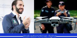 Con las donaciones de los salvadoreños ya se cuenta con el primer dron y se utilizará para cubrir puntos ciegos fronterizos, para evitar ingresos de personas con COVID-19 al país