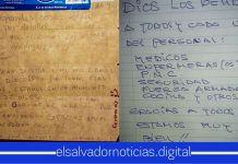 Salvadoreños en los centros de cuarentena, envían agradecimientos a todos los que trabajan en la lucha del COVID-19
