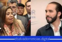 Obligan al Gobierno de Nayib Bukele devolver el empleo del hijo de Nidia Díaz