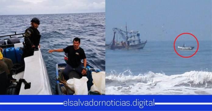 Se encuentran pescadores con vida después de una semana de desaparecidos en costas salvadoreñas