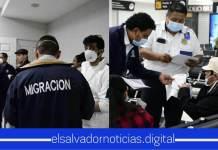 Ingresa un grupo de 32 salvadoreños al país procedentes de España y entrará en cuarentena