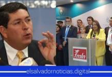 """Walter Araujo tilda de """" basura y anti pueblo"""" al partido político FMLN por no apoyar a los Salvadoreños"""