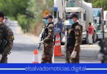 Fuerza Armada cumple la orden del Presidente al levantar el cordón sanitario implementado en el municipio de Metapán