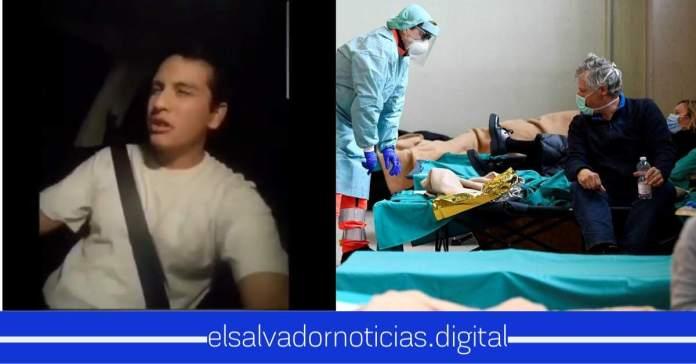 Simpatizante del FMLN se niega acatar la cuarentena del #coronavirus poniendo en riesgo su vida y la de sus familiares