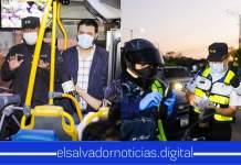 Ministro de Seguridad verifica que todos los Salvadoreños cumpla las medidas de restricción de la movilidad para evitar el riesgo de contagio de #COVID19.