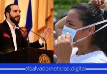 Presidente Nayib Bukele hace un llamado a toda la población salvadoreña a usar mascarilla