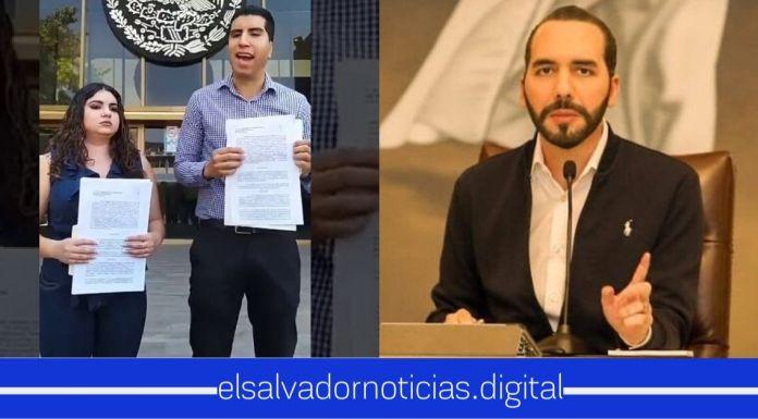 Youtuber mexicana interpuso demanda al Presidente Nayib Bukele
