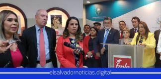 Diputados de ARENA y FMLN trataron de sabotear al Gobierno en la madrugada del viernes