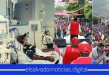 Salvadoreños exigen que el dinero para campaña electorales tendría que ser donado para la compra de insumos médicos