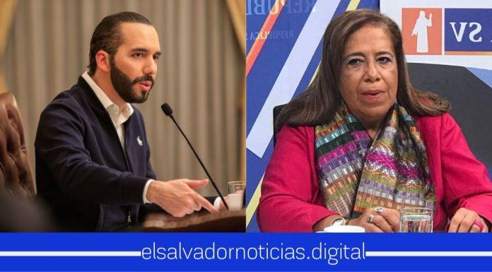 Nidia Díaz sin descaro agrega información a la advertencia de Bukele poniendole mentiras para engañar al pueblo