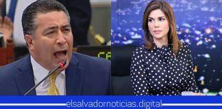 Portillo Cuadra ataca cínicamente a su colega Milena Mayorga para defender a Yanci Urbina del FMLN