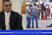 Apolonio calla ante el repunte de muertes violentas en El Salvador