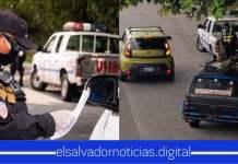 Elementos de seguridad realiza control vehicular para constatar que se cumplan las medidas de circulación en todo el país