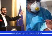 El Salvador se posiciona en 1° lugar por ser el país que más pruebas a realizado de COVID-19