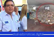Alcalde del partido ARENA había escondido paquetes de alimentos que eran para los salvadoreños más afectados en el municipio de Apopa