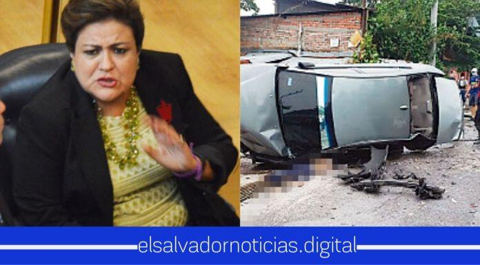 Margarita Escobar defiende vilmente a pandillero que atentó contra las vidas de soldados de la Fuerza Armada