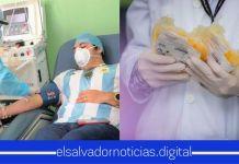 Héroe salvadoreño recuperado de COVID-19 dona su plasma para salvar más vidas del la mortal enfermedad