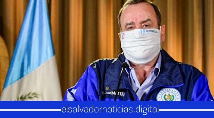 Presidente Giammattei anunció el CIERRE TOTAL en Guatemala tras repunte de casos de Coronavirus