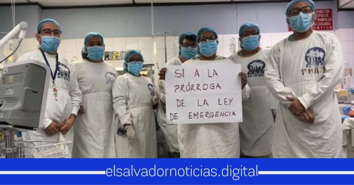 Profesionales de la Salud afirman PARO DE LABORES si diputados no aprueban la prórroga del Estado de Emergencia HOY