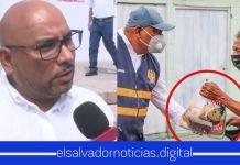 """Alcalde de ARENA: """"¡Basta de engañar a nuestros ciudadanos! Ningún partido político ha dado una donación de víveres"""""""