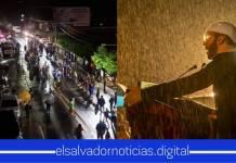 Primer Presidente del Salvador que arriesga su vida para apoyar a lugares afectado por tormenta Amanda