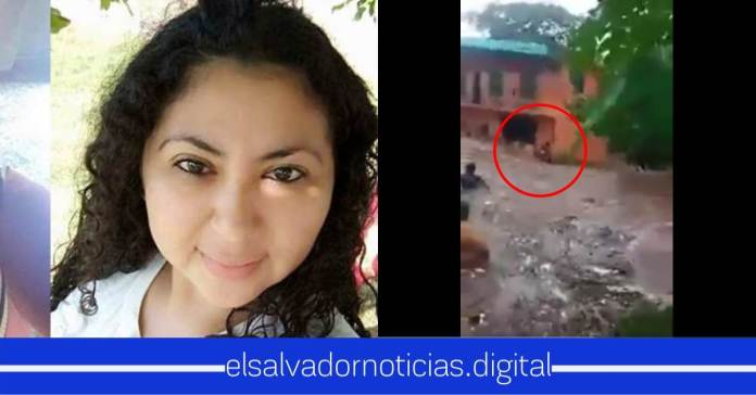 Mayra Villatoro es la mujer que murió arrastrada por la corriente de agua en La Unión